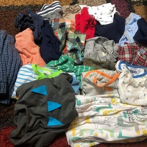 6-9 Month Baby Boy Clothes—20 Items!!!